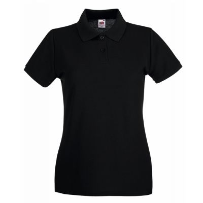 KOSZULKA POLO DAMSKA  FRUIT OF THE LOOM LADIES PREMIUM